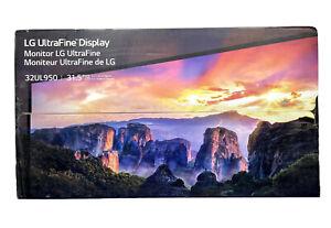 "LG UltraFine 32UL950 31.5"" HDR Display Thunderbolt 3 Nano IPS UHD 4K LED Monitor"