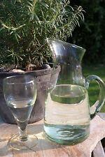 """Krug mit Eislippe """"Roque"""" 1,4 Liter recycling Glas La Mediterranea"""