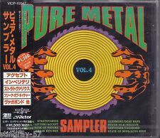 V/A PURE METAL VOL 4 RARE JAPAN CD OBI STRATOVARIUS ACCEPT IMPELLITTERI