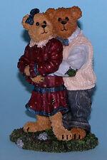 "Boyds Bears #2277926"" Amy & Mark..The Perfect Match"" hugs romance love 2003"