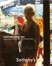 SOTHEBY'S Russian Ukrainian Contemporary Art Catalog 09