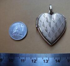 10 k  solid gold pendant  Heart lock     new  ???     stamped not scrap