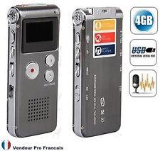 Dictaphone Déclenchement automatique Enregistrement conversation téléphonique 4G