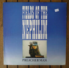 "Fields Of The Nephilim ‎""Preacher Man"" SIT 46 T 12"" Single EX"