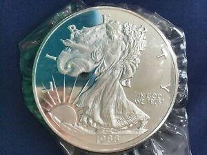 1988 Walking Liberty Silver 14.6 Oz .999 Fine B4062