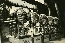 France Paris National Lottery New Electric Draw Machines Old Photo 1940