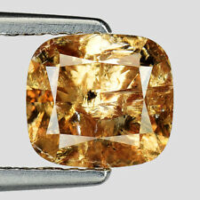 Video! 2.14 Ct Cushion 100% Untreated Natural Rare Fancy Orange Diamond