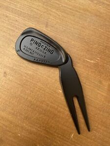 Ping Zing Sand Wedge Golf Pitch Fork Divot Tool Pitchmark Repairer Ball Marker