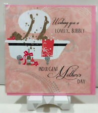 Mother's Day Card-Greeting Card-Mom-Mum-Wishing you a Lovely,Bubbly