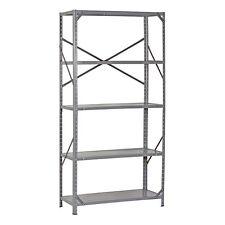Metal Storage Shelving Unit Heavy Duty 5 Shelf Rack Steel Organizer 36x72x16