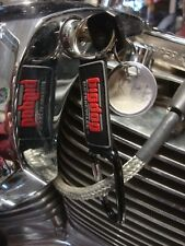 Big Dog Motorcycles Black Carabiner Key Chain 3-D Rubber K-9 Chopper Pitbull