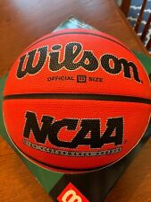 "Wilson Ncaa High Performance Rubber 29.5"" Official Size Basketball New in Box"