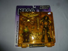 NEW KISS PSYCHO CIRCUS FIGURE SET PAUL STANLEY THE JESTER MCFARLANE TOYS 1998 >>