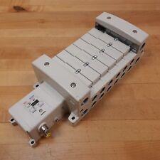 SMC EX250-SPR1 Serial Interface Unit with 8 Valves - NEW