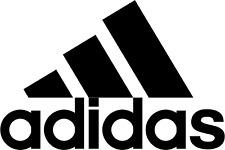 Adidas Logo Iron On Transfer Light or Dark Fabrics 5 x 7 size