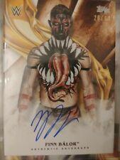 Finn Balor Autograph Card 26/99 Bronze Parallel WWE Undisputed 2019 Topps