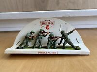 "Vintage Herald Models Plastic Toy Soldiers ""Unbreakable"" Made In England"