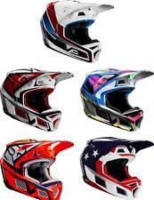 Fox Racing V3 Helmet - MX Motocross Dirt Bike Off-Road ATV UTV MTB Men Women