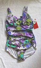 MagicSuit by Miraclesuit One Piece Florals Size 12,14 or 16 Retail $150