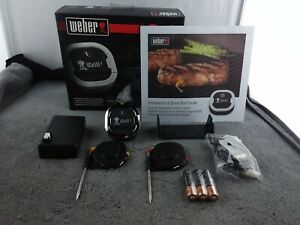 Weber iGrill 3 Bluetooth Grill Thermometer - Black - Used