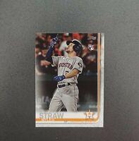 2019 Topps Series 2 SP Photo Variation #629 MYLES STRAW - Houston Astros