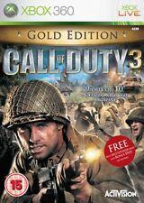 Call of Duty 3 Gold Edition XBox 360 VGC Original UK Version