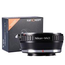 K&F Concepto Nikon a Micro 4/3 Mft Micro Cuatro Tercios ADAPTADOR
