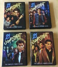 21 Jumpstreet The Complete First Season - The Complete 4th Season DVD Sets USED