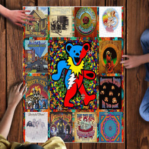 1000 Piece Wooden puzzle Grateful Dead large puzzle Adult Game Toy Gift