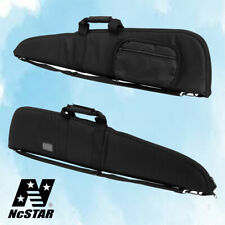 """NcStar 48"""" Padded Tactical Rifle Shotgun Gun Case Mag Pouch Bag Black Cv2906"""
