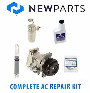 For Chevrolet C4500 Kodiak GMC Complete AC A/C Repair Kit w/ Compressor & Clutch