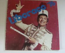 Liberace Souvenir Program 1976 Mr Showmanship, Las Vegas Home
