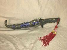 Indo Persian Silver koftgari small Dagger camel Bone handle gift purpose
