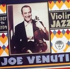 Violin Jazz 1927-34 - Joe Venuti (1991, CD NIEUW)