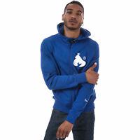 Mens Money Showdown Zip Through Hoody In Blue
