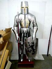 X-Mas Medieval Knight Suit Of Armor 15th Century Combat Full Body Armour Suit