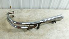 81 Kawasaki KZ550 C KZ 550 LTD left side muffler pipe exhaust