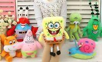 SpongeBob Squarepants Patrick Star Soft Plush Toys Stuffed Dolls