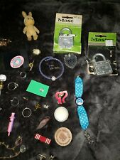 Junk Drawer Lot Some Silver Rings/other
