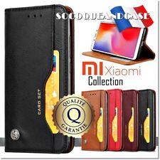 Etui coque housse Cuir Premium Qualité Leather Case Cover XIAOMI (All Models)