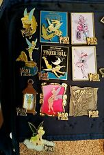WDW LE 50TH ANNIVERSARY TINKER BELL  3D DISNEY PINS LOT OF 10