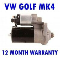 VW Golf Mk4 Mk IV 1.4 1.6 1.8 2.0 1997 1998 1999 2000-2006 Motor Arranque