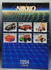 1994 vintage NIKKO advertising CATALOG Nintendo MARIO KART remote control RC car