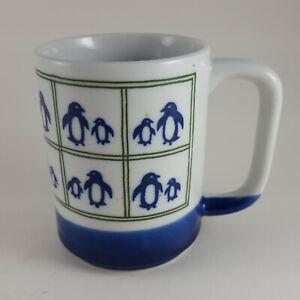 Vintage Otagiri  Penguin Mug Coffee Cup Made in Japan Art Pottery - FREE SHIP