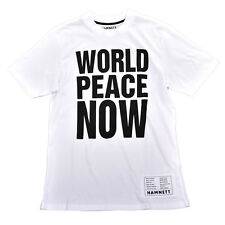 Hamnett World Peace T-Shirt in White Katherine Hamnett SAVE THE WORLD
