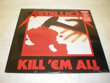 Metallica - Kill 'em All - NEW & SEALED VINYL LP - 2014 Blackened Records RI