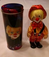 Clown Doll Musical wind up. Lucy's with Tin     *C2