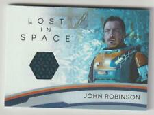 LOST IN SPACE SEASON ONE COSTUME RELIC CARD RC8 JOHN ROBINSON MATERIAL V2