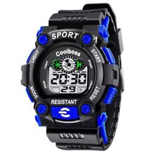 Waterproof Sports Digital Work watch Water resistant and shock proof Men Boy UK