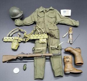 "1:6 Ultimate Soldier WWII US 101st Airborne Uniform Lot 12"" GI Joe Dragon BBI"